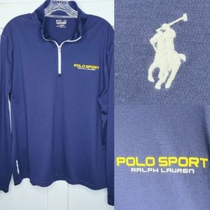 Polo Sport Performance 1/4 Zip Thermovent Pullover